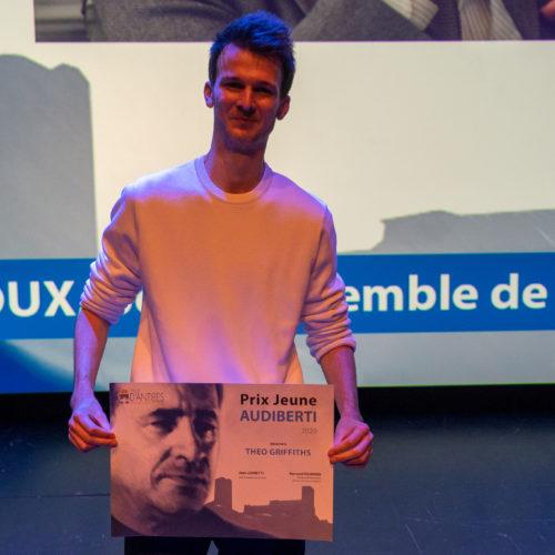 Théo Griffiths Prix Jeune Audiberti 2020