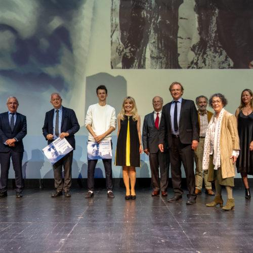 Vue d'ensemble des memebres du Jury du Grand Prix et du Prix Jeune Audiberti avec les lauréats